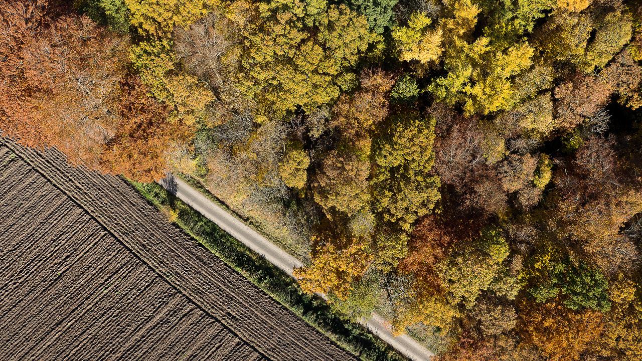Longueville vue du ciel P1000412-1
