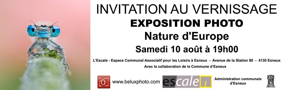 Grande exposition pour les 5 ans du forum : Photo nature du 10 au 30 Août - Page 2 Invitation