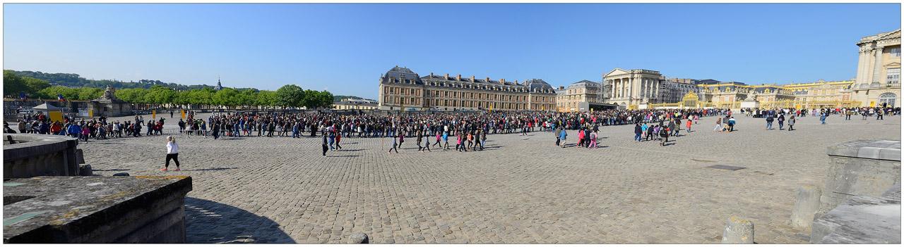 Sortie annuelle à Versailles - parc animalier de Nesles, les 2 3 4 mai 2014 : Les photos d'ambiances Versaille-01
