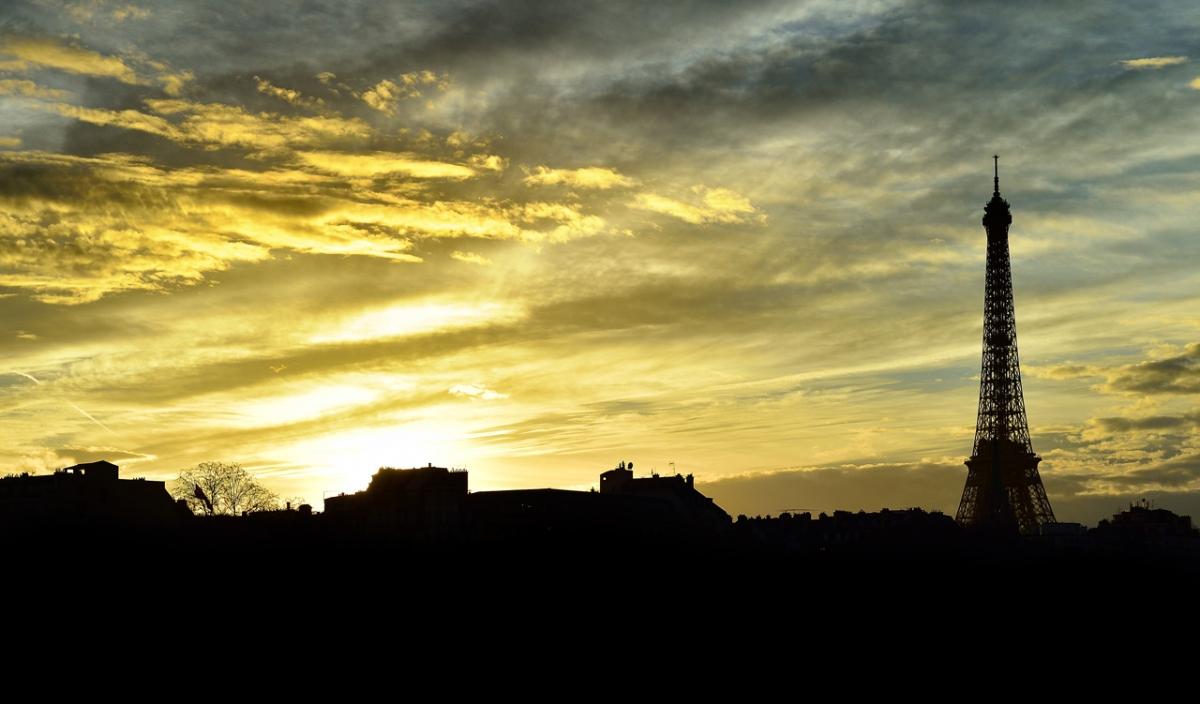 Coucher de soleil sur Paris D4S_1484